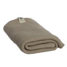 Ręcznik kąpielowy z bawełny organicznej, beżowy