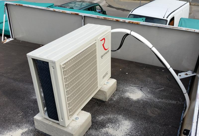 montaż instalacji chłodniczych - KABO Chłodnictwo Klimatyz... zdjęcie 5