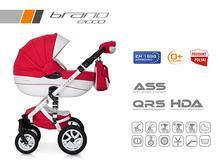 Wózek wielofunkcyjny Riko Brano Ecco (Sport red)