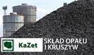 KaZet. Sprzedaż węgla, ekogroszku tanio. Sprzedaż soli drogowej, Transport, spedycja, materiały opałowe