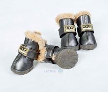 Buty dla psa r. 1 srebrne ZOLUX