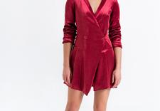 bordowa sukienka - SPEKTRUM zdjęcie 5