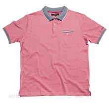 Duża Koszulka Polo Subterfuge - Czerwona