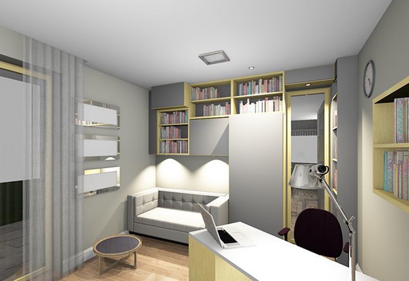 projekt wnętrze komercyjne - BB Projekt zdjęcie 6