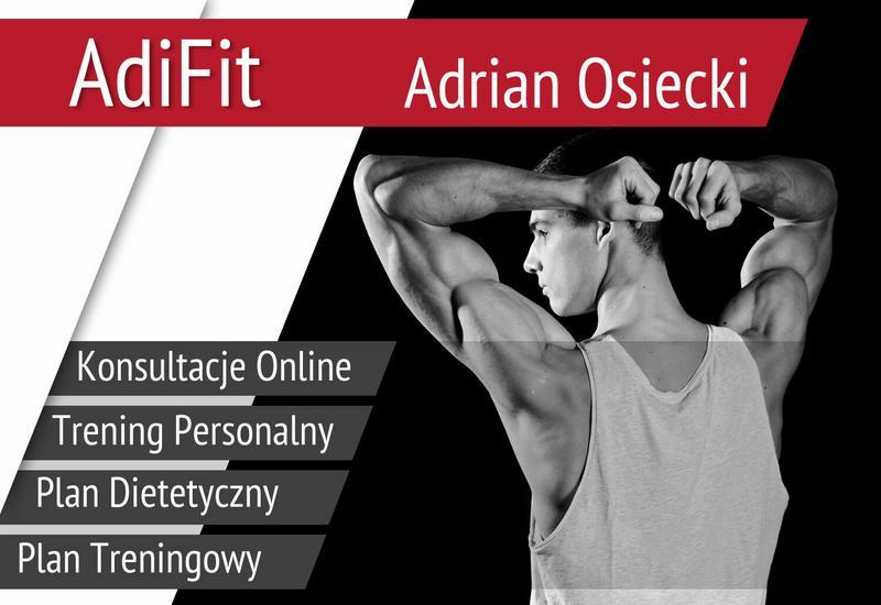 dieta online adifit - Adrian Osiecki - AdiFit zdjęcie 1