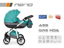 Wózek wielofunkcyjny Riko Nano (Malachit)