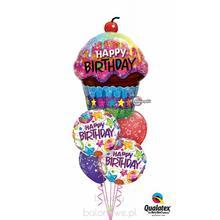 Bukiet balonowy - 503 balony z helem na urodziny