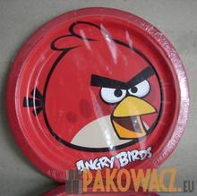 Talerzyki papierowe ANGRY BIRDS 8 sztuk