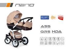 Wózek wielofunkcyjny Riko Nano (Cafe late)