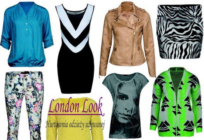odzież używana kraków - London Look zdjęcie 4