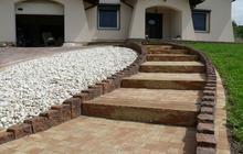 Architektura ogrodowa schody