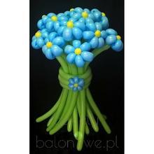 Bukiet balonowy - kwiaty Nie zapomnij o mnie