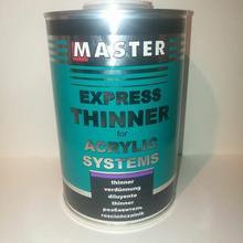 Rozcieńczalnik akrylowy (expres) MASTER 1L