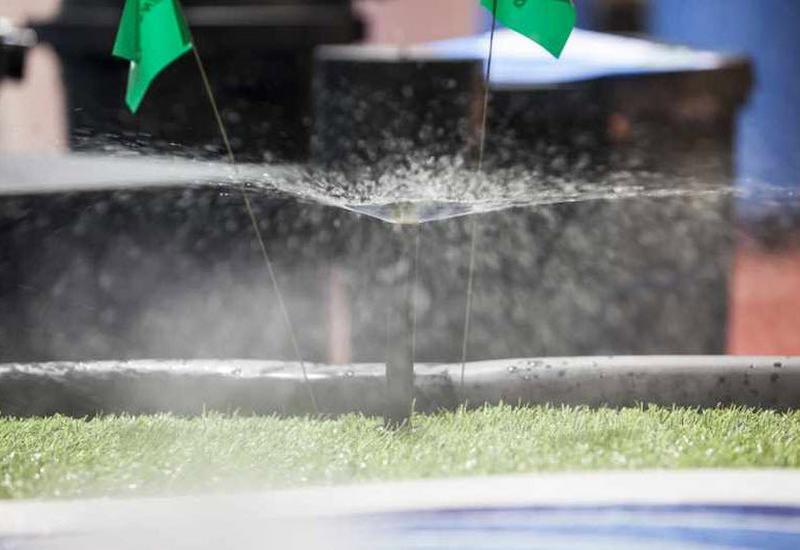 Profesjonalne systemy nawadniania, zielone ściany