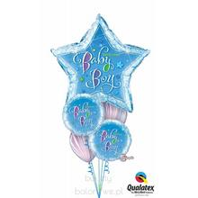 Bukiet balonowy - balony z helem Baby Boy