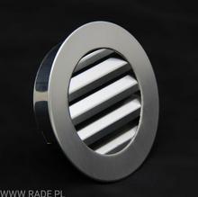 Kratka Okrągła z żaluzjami FiFi 125