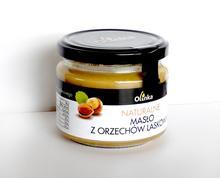 Masło z orzechów laskowych naturalne Olinka 250g