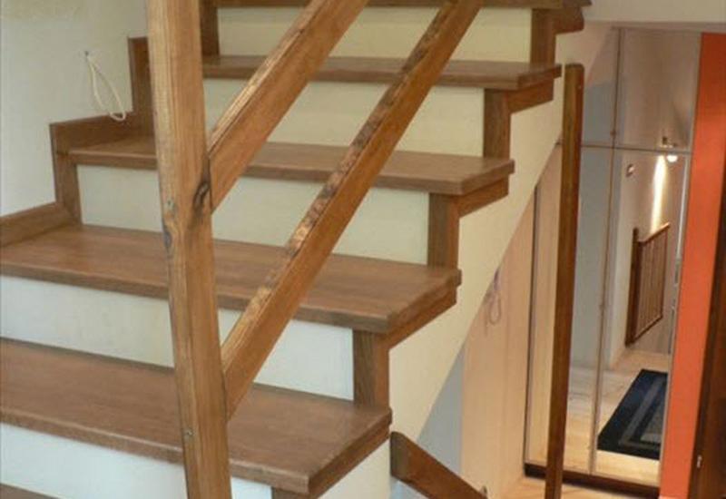 Blaty drewniane, schody, pellet dębowy
