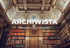 archiwizacja - ARCHIWISTA usługi archiwa... zdjęcie 1