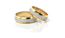 Obrączki ślubne z brylantami