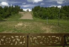 stok narciarski latem - Strajkowa Karczma