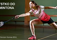 badminton, akcesoria do badmintona