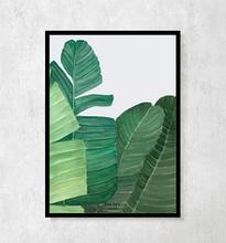 """Plakat botaniczny """"Palmowe pióropusze"""""""