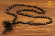 Mala 108 koralików Agat czarny