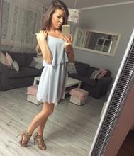 Sukienka LUNA szara