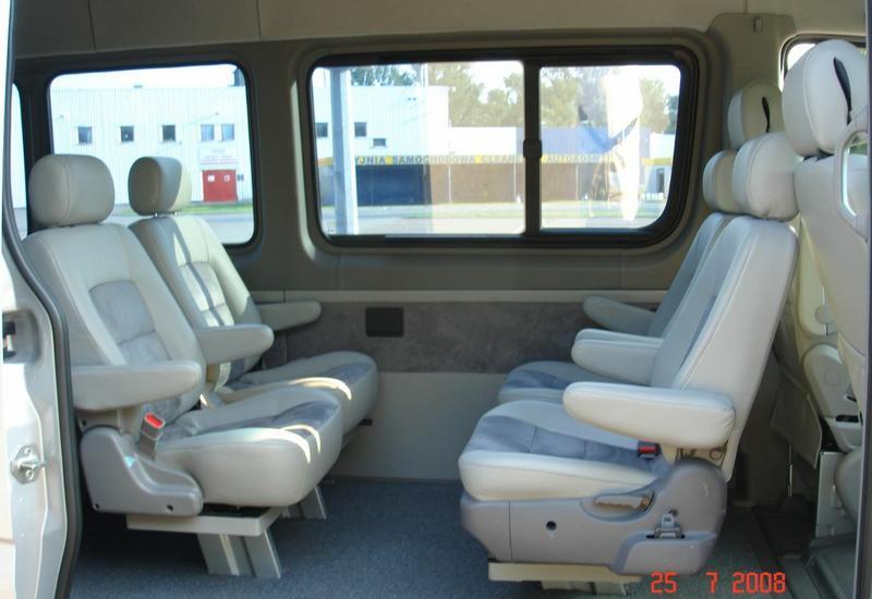 Wynajem limuzyn, minivany