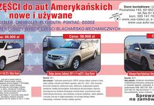 części samochody amerykańskie