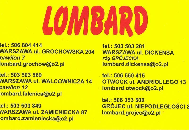 skup agd - Lombard Grójecka róg Dick... zdjęcie 1