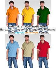 Koszulki z nadrukiem.