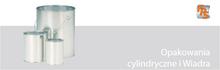 opakowania cylindryczne