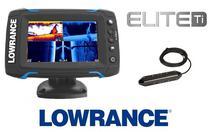 Lowrance Echosonda Elite 5Ti + TotalScan