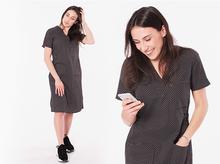 Sukienka medyczna kosmetyczna 100% bawełna