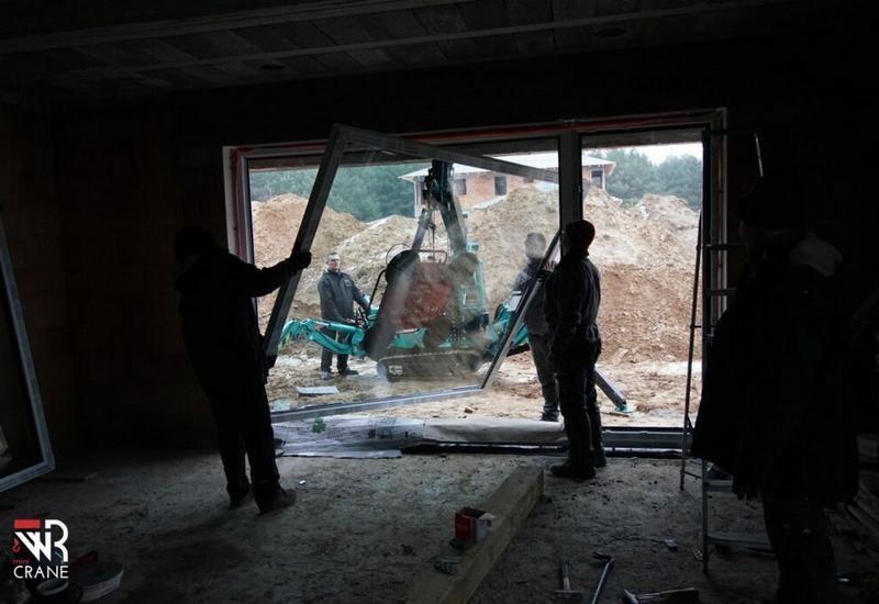 maszyny budowlane - WR mini CRANE  zdjęcie 4