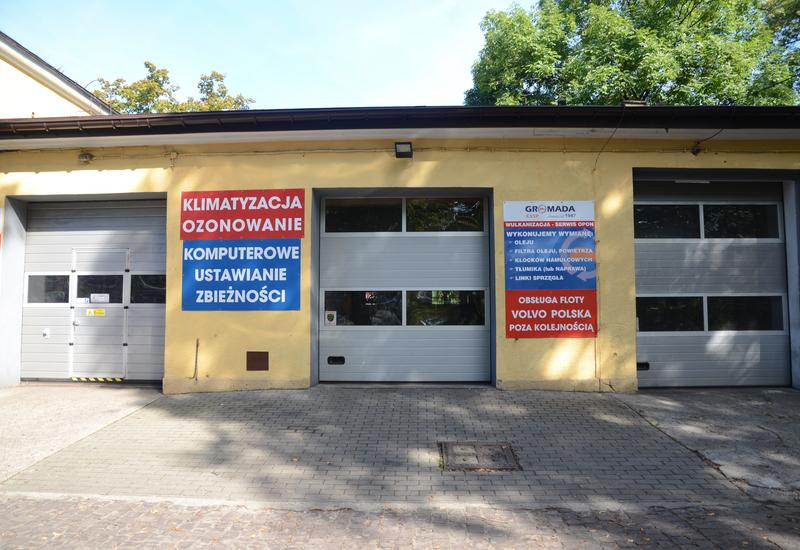 Krakowska Usługowa Spółdzielnia Pracy Gromada. Zakład Usług Wulkanizacyjnych