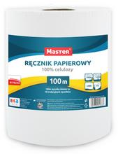 Ręcznik papierowy 100m 6 rolek MASTER S-161
