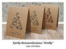 Kartka Bożonarodzeniowa Perełka