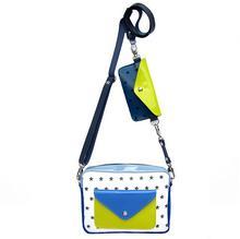 Torebka Double Bag- pluszowe gwiazdki