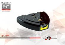 iFSWT-301 - Przełącznik HDMI, 4K - ALIQUAM