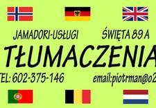 z rosyjskiego - Jamadori Usługi Tłumaczen... zdjęcie 1