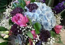 kwiaty w koszu - Kwiaciarnia Magia Kwiatów... zdjęcie 6