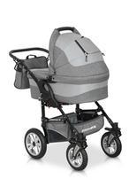 """Wózek ALPINA FX w kolorze """"grey fox"""""""