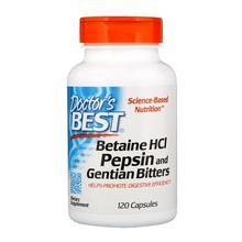 BETAINE HCL 650 mg 120 kapsułek BETAINA