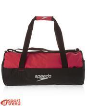 Speedo torba basenowa czarno-czerwona