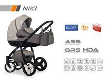 Wózek wielofunkcyjny Riko NIKI (Latte)