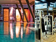Bogato wyposażony fitness club