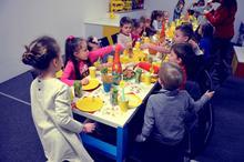 Urodziny dla dzieci z klockami LEGO